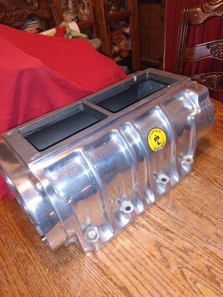 1071 Littlefield blower polished aluminum with front and bac  for Sale $1,099