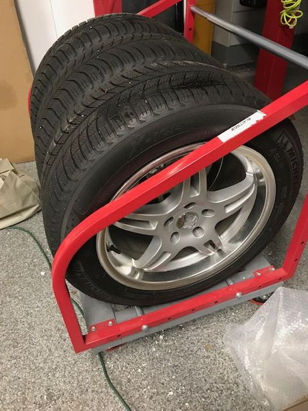 Michelin snow tires w/Voxx rims   for Sale $500