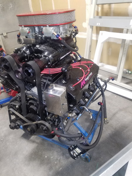 Indy Aluminum block Hemi 604ci Quad rotor Whipple Charger  for Sale $19,000