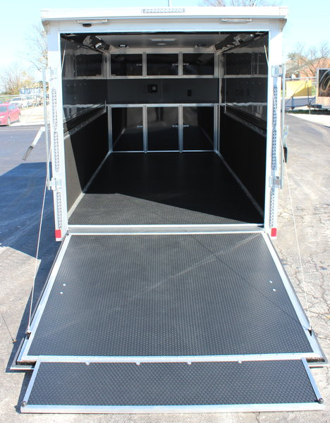 SUPER LOADED 7'x16' Motorcycle Trailer