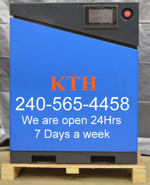 KTH 20 Hp Rotary Srew Air Compressor   for Sale $7,300