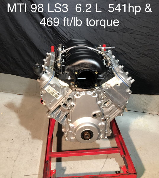 MTI 98 LS3 6.2L  550hp & 454 ft./lb Torque  for Sale $8,890