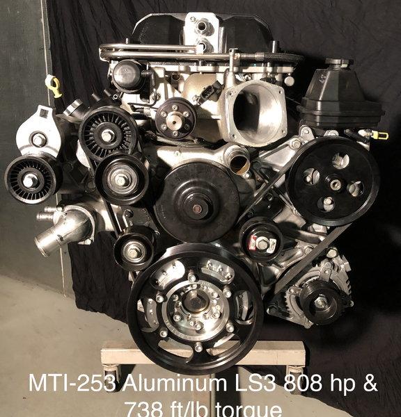 MTI 253 Aluminum LS3   for Sale $25,000
