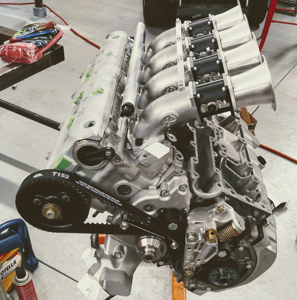 Porsche 944S 2.5l 16v race engine w/ITBs+headers  for Sale $7,500
