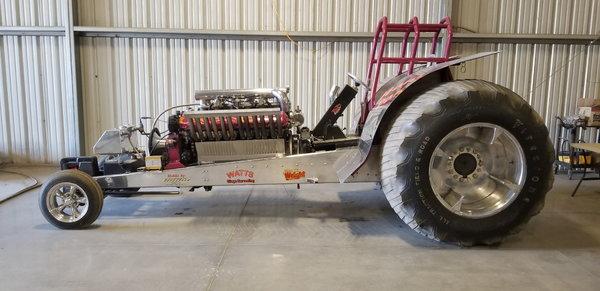 V12 Allison Pull Tractor  for Sale $40,000