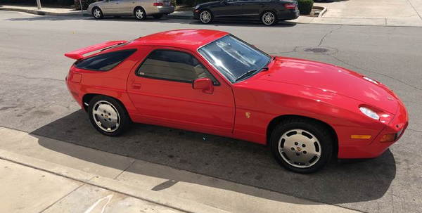 1988 Porsche 928 S4  for Sale $0