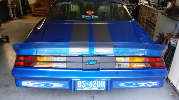 1981 z28 Camaro w/2006 26' Vintage trailer  for Sale $40,000