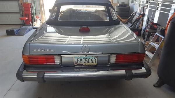 1987 MERCEDES-BENZ 560SL  for Sale $37,500