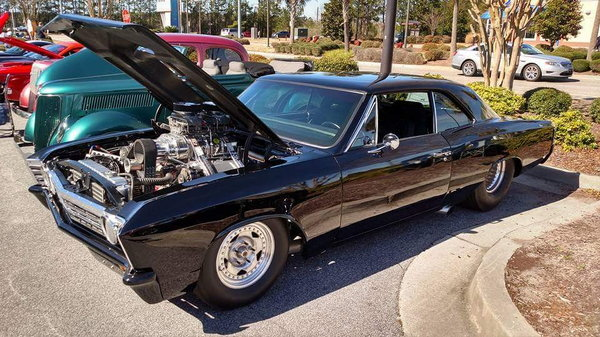 1967 Pro Street Chevelle  for Sale $55,000