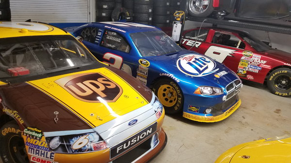 Factory Road Course Penske Dodge Ford Avail 2011 NASCA
