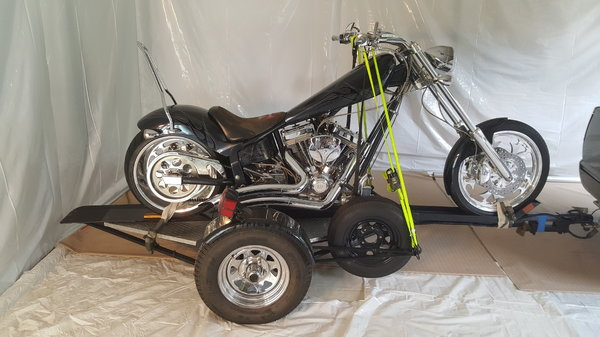 06 Ironhorse Chopper and trailer  for Sale $15,000