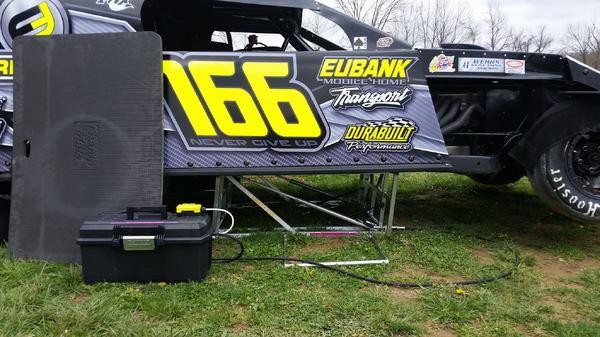 Aluminum Late Model and Modified Race Car Lift