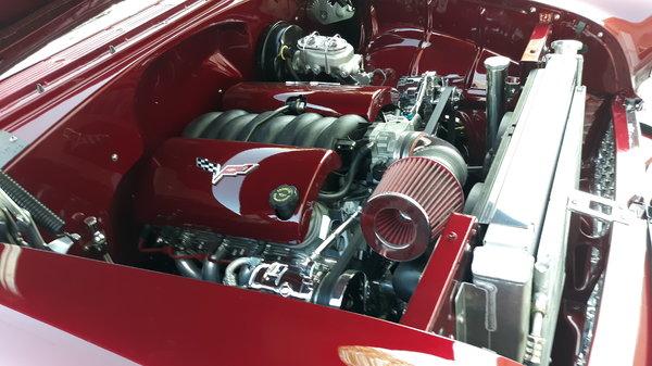 1955 chevy bel air hard top. Ls high end car