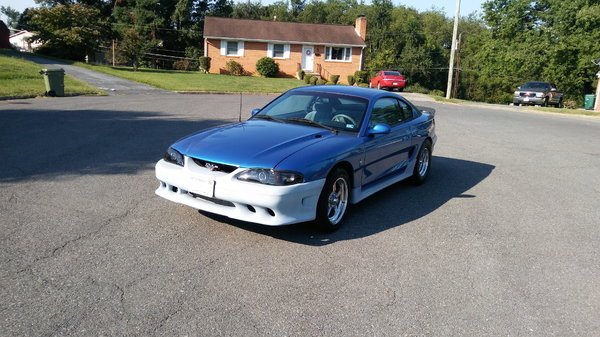 twin turbo 1995 mustang hot rod 1000 rwhp street car saleen   for Sale $20,000