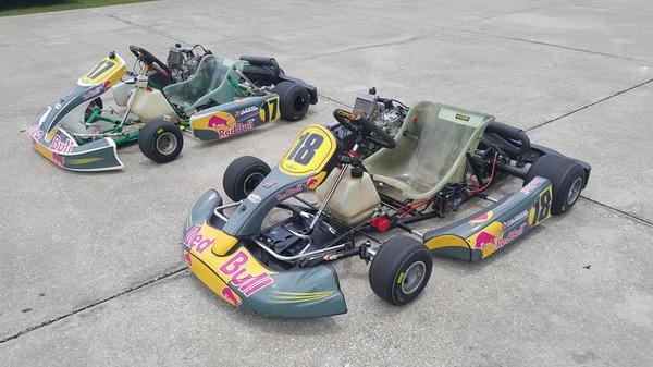 Tony Kart 125cc Rotax + CRG 125cc Rotax  for Sale $4,000