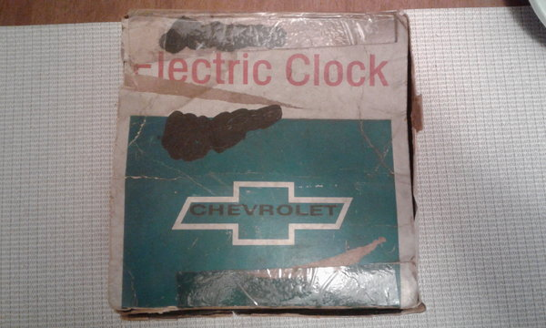 NOS 66-67 Chevy Clock  for Sale $550