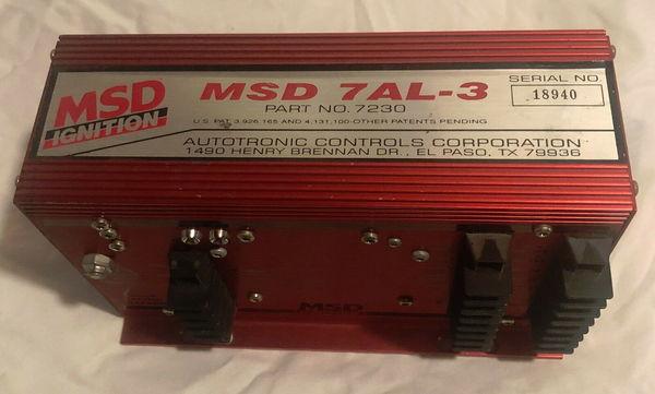 MSD IGNITION BOX 7AL-3 for sale in Phila, PA, Price: $449