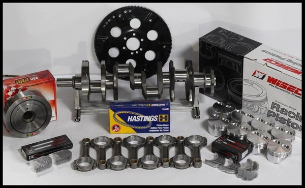 BBC CHEVY 505 ASSEMBLY +20cc DOME 4.350 PISTONS 100 OVER 2PC  for Sale $1,895