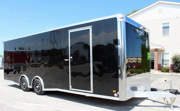 Wide Car? 2020 24' Black All Aluminum