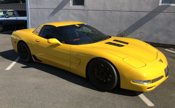 2001 Corvette Z06 Modified For Track Day Usage  for Sale $29,900