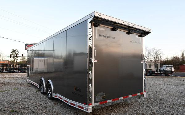 28' inTech Aluminum Race Car Trailer - 11755