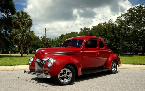 1939 Ford Street Rod Coupe Steel Body  for Sale $38,900