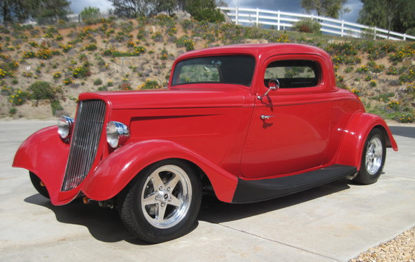 34 Ford 3-window Coupe  for Sale $29,000