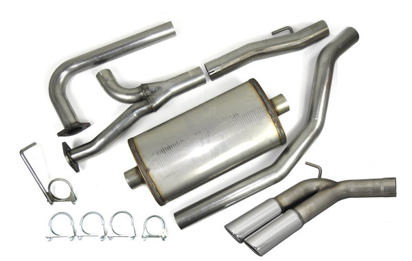 JBA Exhaust 40-1403 SS CAT Back Exhaust System  for Sale $514.55