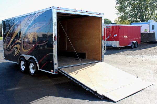 Pre-Owned 8.5'x16' 2016 Freedom Trailer