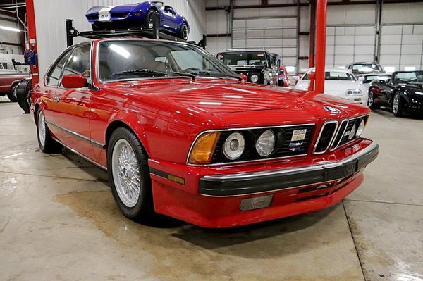 1988 BMW M6  for Sale $43,900