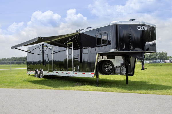 2019 STW Enclosed Toy Hauler With 14' LQ