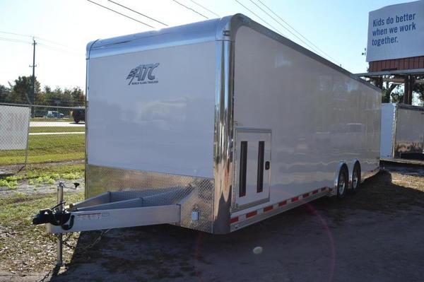28' White ATC Quest w/ All Aluminum Frame