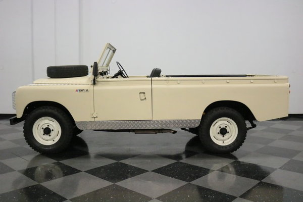 1967 Land Rover Series IIA  for Sale $26,995