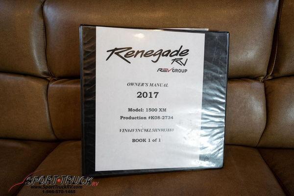 2017 Renegade 1500XM