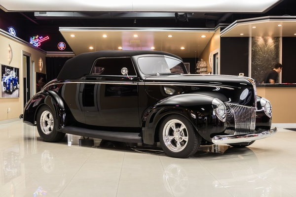 1940 Ford Deluxe Cabriolet Street Rod  for Sale $79,900
