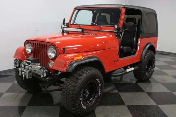 1980 Jeep CJ7  for Sale $20,995