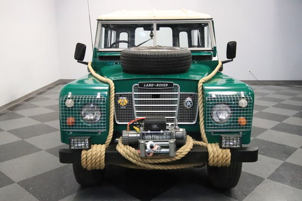 1974 Land Rover Series III  for Sale $29,995