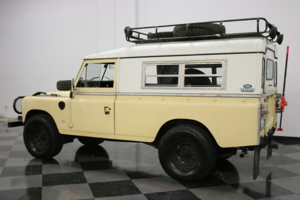 1983 Land Rover Series III  for Sale $21,995