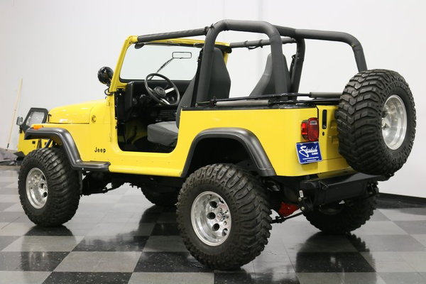 1993 Jeep Wrangler YJ  for Sale $21,995