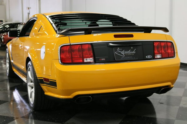 2007 Ford Mustang Saleen/Parnelli Jones Limited Edition  for Sale $43,995
