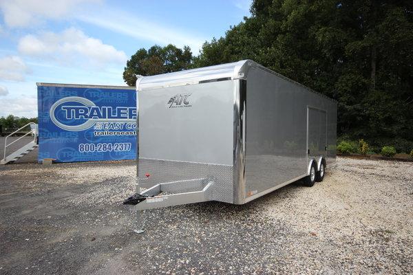 2019 ATC Raven CH 24ft Enclosed Aluminum Car Trailer