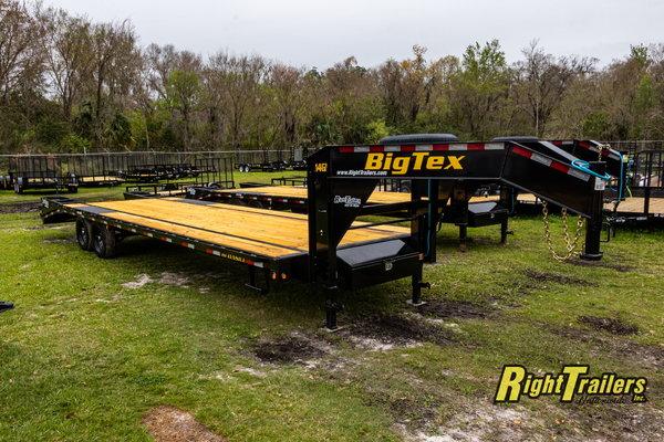 2021 8.5x30 Big Tex Gooseneck Equipment Trailer