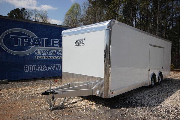 2019 ATC Quest CH305 24ft Aluminum Enclosed Car Trailer