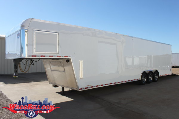 40' UNITED Loaded X-Height Race Trailer Wacobill.com