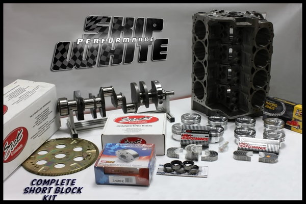 SB CHEVY 434 DART SHORT BLOCK FORGED -19.5cc DISH 4.155   for Sale $3,550