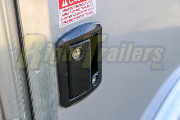 2021 8.5x24 Bravo Race Trailer with Premium Escape Door