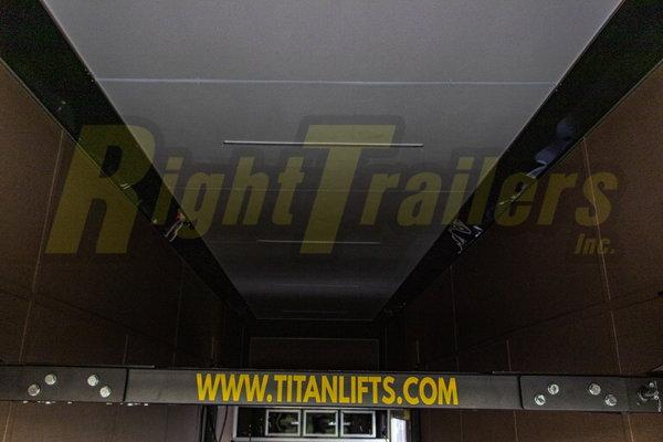 2021 8.5 x 32 Cargo Mate Stacker Trailer