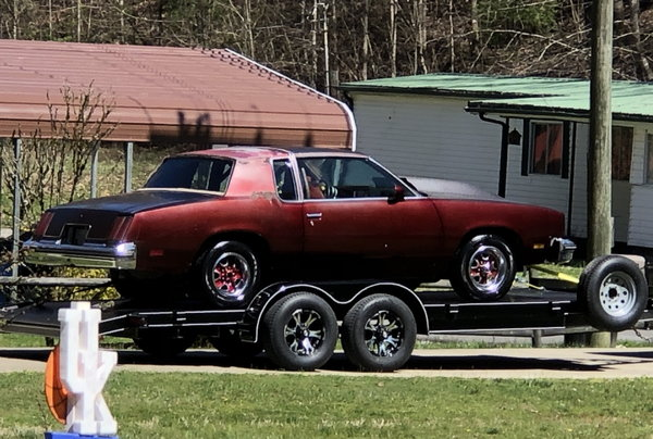 1979 Oldsmobile Cutlass (Roller) with title.