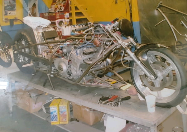 Racing bike with lots of extras  for Sale $7,500