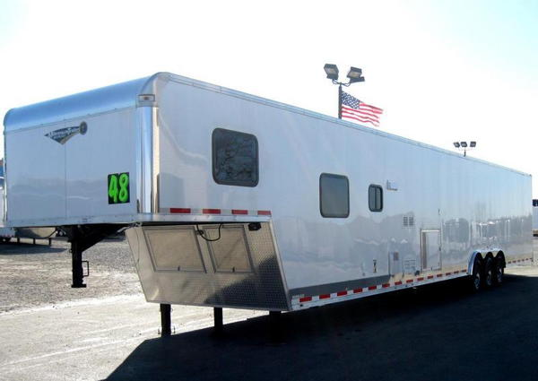 2019 48' Millennium 12'XE +8' Living Quarters Trailer